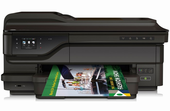 MÁY IN HP Officejet 7612 wifi A3 - IN -Scan - Photo -fax